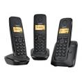 Telefono Inalambrico Siemens Gigaset A120 Trio Black