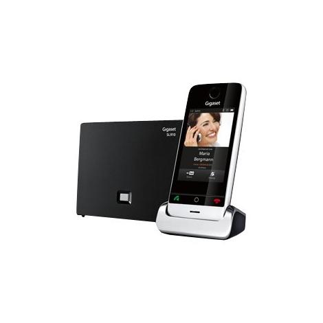 Telefono Inalambrico Siemens Gigaset SL910 3.5'' Tactil Black