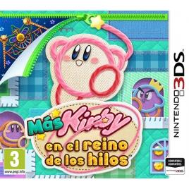 Juego MAS Kirby EN el Reino de los Hilos 3DS Nintendo