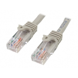 Cable Startech red RJ45 CAT 5 7M Grey