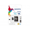 Memoria Micro SD A-DATA 16GB Class 10 + Adaptador