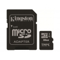 Memoria Micro SD Kingston 16GB + Adaptador