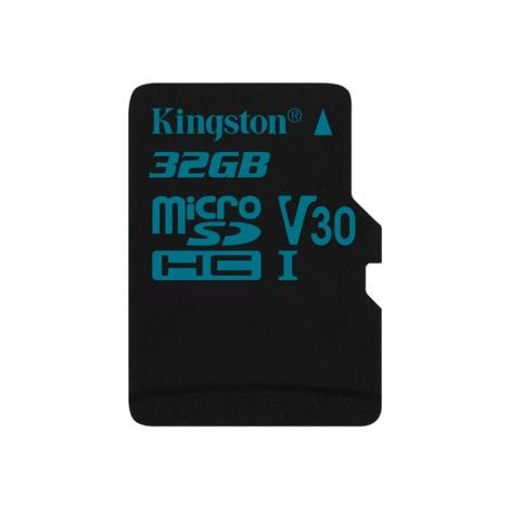 Memoria Micro SD Kingston 32GB U3 Class 10 90Mpbs