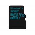 Memoria Micro SD Kingston 32GB U3 Class 10 90Mpbs