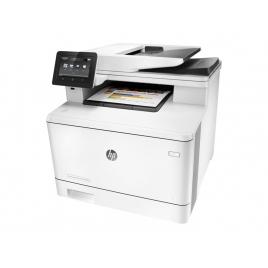 Impresora HP Multifuncion Laser Color PRO M477fdw 27PPM FAX USB LAN WIFI NFC
