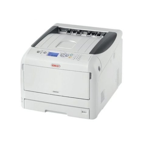 Impresora OKI Laser Color C843DN 35PPM Duplex USB LAN A3