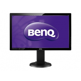 "Monitor Benq 24"" LED Gl2450ht 1920X1080 2ms VGA DVI-D HDMI Multimedia Piv / Reg Black"