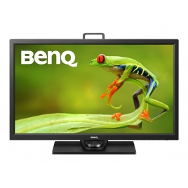 "Monitor Benq 27"" QHD Sw2700pt 2560X1440 5ms DP DVI HDMI Black"