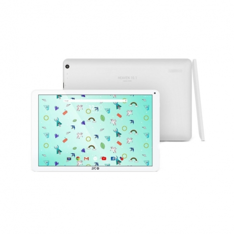 """Tablet SPC Heaven 10.1"""" IPS QC 16GB 2GB Android 7.1 White"""