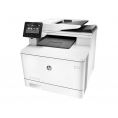 Impresora HP Multifuncion Laser Color PRO M477fdn 27PPM A4 USB LAN FAX White