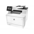 Impresora HP Multifuncion Laser Color PRO M477fdn 27PPM A4 USB LAN FAX White