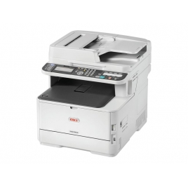 Impresora OKI Multifuncion Laser Color Mc363dnw 30PPM USB LAN FAX