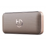 Altavoz Bluetooth Hiditec Harum 10W SD + Powerbank Gold