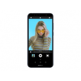 "Smartphone Huawei Y6 2018 5.7"" QC 16GB 2GB 4G Android 8.0 Black"