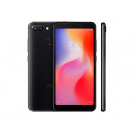 "Smartphone Xiaomi Redmi 6 5.45"" OC 64GB 3GB 4G Android 8.1 Black"