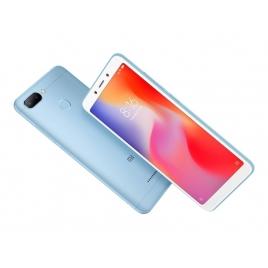 "Smartphone Xiaomi Redmi 6 5.45"" OC 64GB 3GB 4G Android 8.1 Blue"