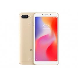 "Smartphone Xiaomi Redmi 6 5.45"" OC 64GB 3GB 4G Android 8.1 Gold"