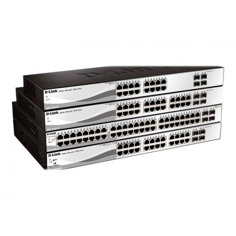 Switch D-LINK DGS-1210-20 10/100/1000 16 Puertos + 4P SFP Gigabit