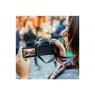 Camara Digital Canon EOS 200D 24.2 Mpixel 3X Zoom EF-S DC 18-55MM Black