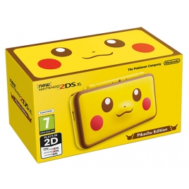 Consola Nintendo NEW 2DS XL Pikachu Edition