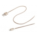 Cable Celly USB 2.0 a Macho / Apple Lightning Macho 1M Gold