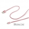 Cable Celly USB 2.0 a Macho / Apple Lightning Macho 1M Rose Gold