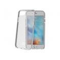 Funda Movil Back Cover Celly Hexagon Transparente/Grey para iPhone 7 / 8