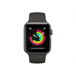 Apple Watch Serie 3 38MM Space Gray Aluminium + Correa Sport Grey