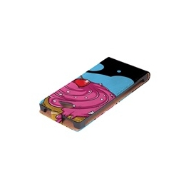 Funda Movil HT Vertical Case Printings OOH! ICE para iPhone 4/4S