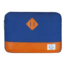 "Funda Portatil E-VITTA 13.3"" Heritage Blue/Orange"