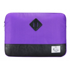 "Funda Portatil E-VITTA 13.3"" Heritage Purple/Black"