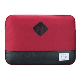 "Funda Portatil E-VITTA 13.3"" Heritage Red/Black"