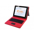 "Funda Tablet E-VITTA 9.7"" - 10.1"" Keytab + Teclado Touch USB red"