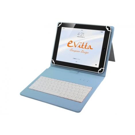 """Funda Tablet E-VITTA 9.7"""" - 10.1"""" Keytab Daisies + Teclado USB"""