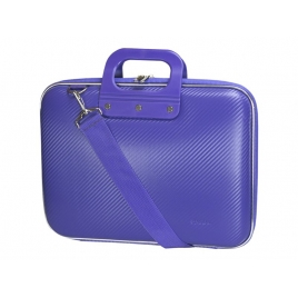 "Maletin Portatil E-VITTA 13.3"" BAG Carbon Purple"