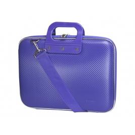 """Maletin Portatil E-VITTA 15.4 - 16"""" BAG Carbon Purple"""