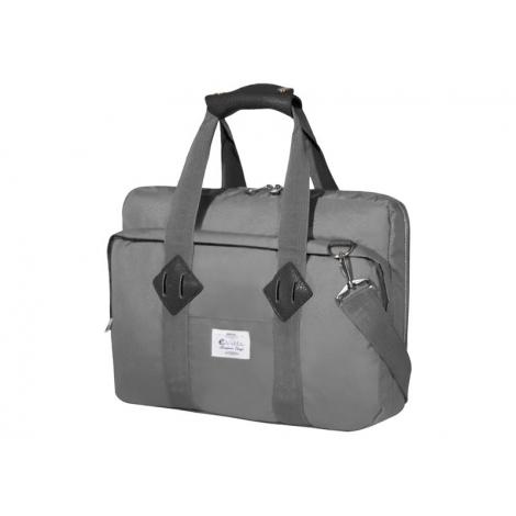 """Maletin Portatil E-VITTA 16"""" Messenger Laptop Grey"""