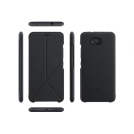 Funda Movil Back Cover Bq DUO Tapa Aquaris U2/U2 Lite Black