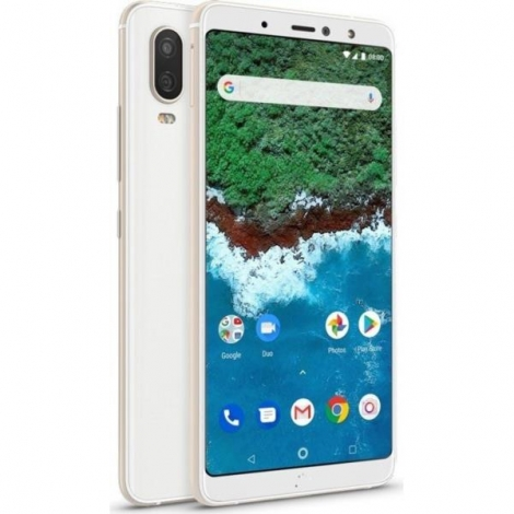 "Smartphone Bq Aquaris X2 PRO 5.65"" FHD IPS OC 64GB 4GB 4G Android 8.1 Glaze White"