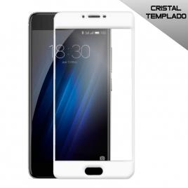 Protector de Pantalla HT Cristal Templado 3D White para Meizu M3 / M3S