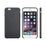 Funda iPhone 6 Plus Apple Silicone Case Black