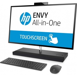"Ordenador ALL IN ONE Tactil HP Envy 27-B204NS CI7 8700T 8GB 1TB + 256GB SSD 27"" QHD GTX1050 4GB W10 Black"