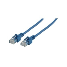 Cable Kablex red RJ45 CAT 5 1M Blue