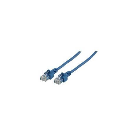 Cable Kablex red RJ45 CAT 5 1M Blue
