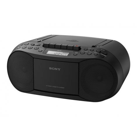 Radiocassette Sony CFD-S70 CD MP3 Cassette Radio FM Black