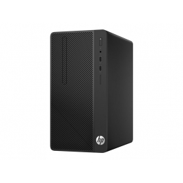Ordenador HP 285 G3 MT Ryzen 5 2400G 8GB 256GB SSD RX Vega 11 Dvdrw W10P Black