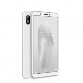 """Smartphone Bq Aquaris C 5.45"""" QC 16GB 2GB 4G Android 8.1 Silver White"""