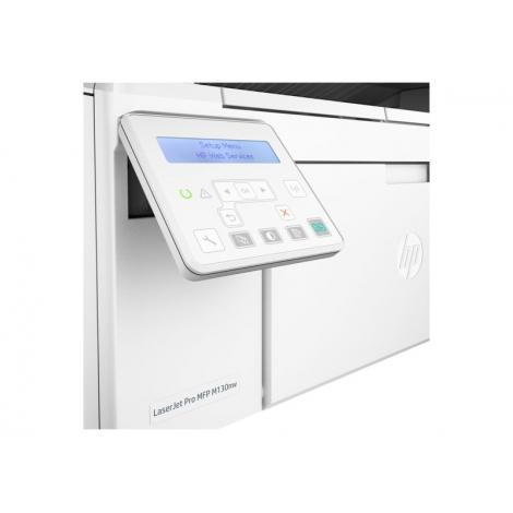 Impresora HP Multifuncion Laser Monocromo PRO MFP M130NW 22PPM USB WIFI LAN White