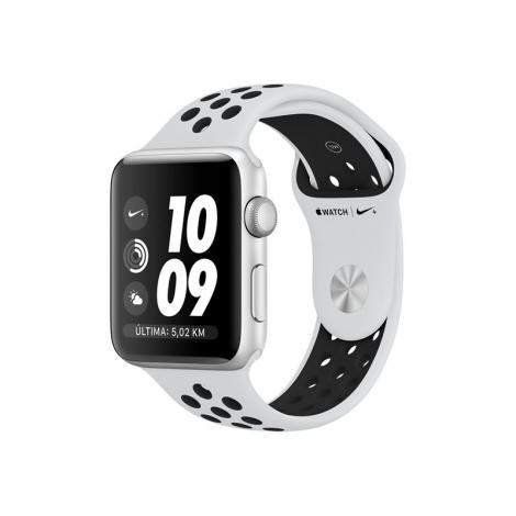 Apple Watch Nike+ Serie 3 42MM Silver Aluminium + Correa Nike Sport Pure Platinum/Black