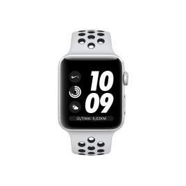 Apple Watch Nike+ Serie 3 42MM Silver Aluminium + Correa Nike Sport Pure Platinum/Black